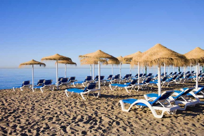 Laze around at Bounty Beach Spanish Home - Spain propety experts