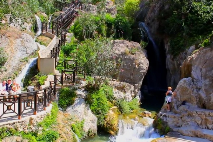 Take a dive into the Algar Waterfalls Spanish Home - Spain propety experts